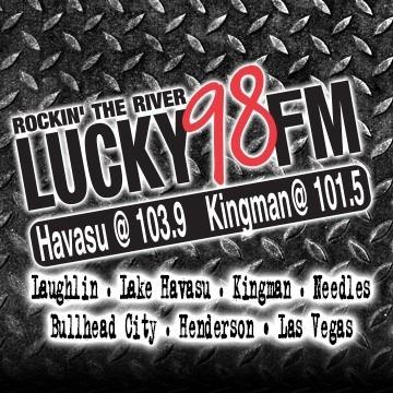 Lucky 98 FM logo