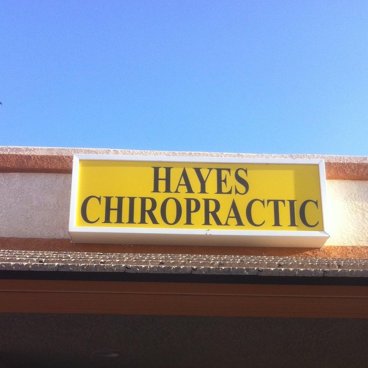Hayes Chiropractic logo