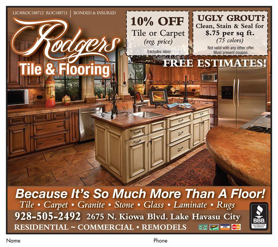 Rodgers Tile & Flooring logo
