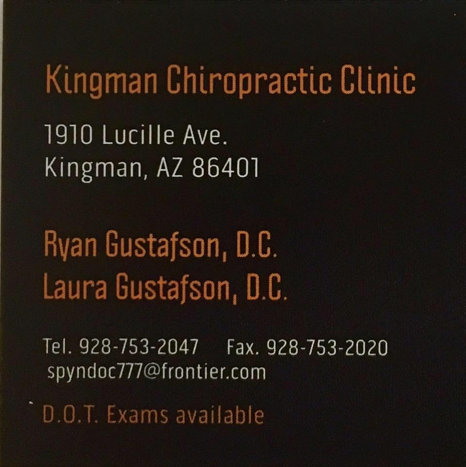 Kingman Chiropractic Clinic logo