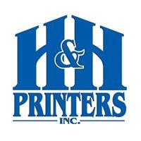 H & H Printers logo