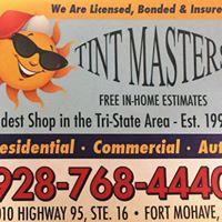 Tint Masters logo