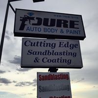 Pure Auto Body & Paint logo