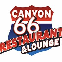 Canyon 66 Restaurant & Lounge logo