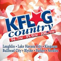 KFLG 94.7 FM logo