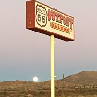 Mike's Route 66 Outpost & Saloon logo