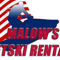 Malow's Jet Ski Rentals logo