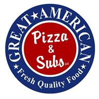 Great American Pizza & Subs logo