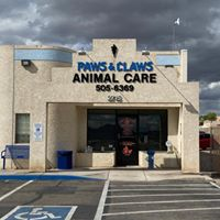 Paws & Claws Animal Care logo