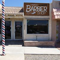 Havasu Barber Shop logo
