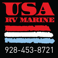 USA RV & Marine logo