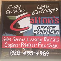 Calton's Office Equipment logo