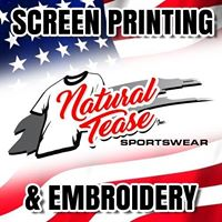 Natural Tease Inc Sportswear logo
