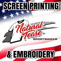 Natural Tease Inc Sportswear logo