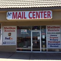 A+ Mail & Business Center logo