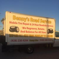 Benny's Road Service logo