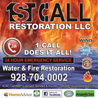 1st Call Restoration LLC logo