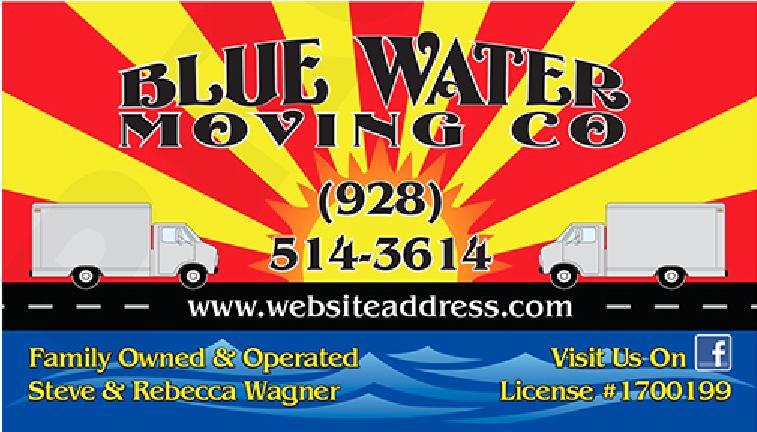Blue Water Moving Company logo