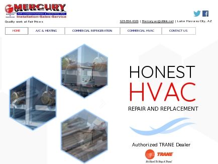 Mercury Air Conditioning & Heating Inc logo