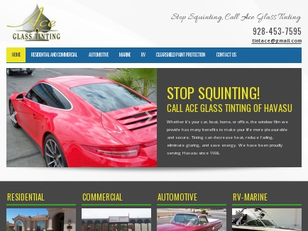 Ace Glass Tinting logo