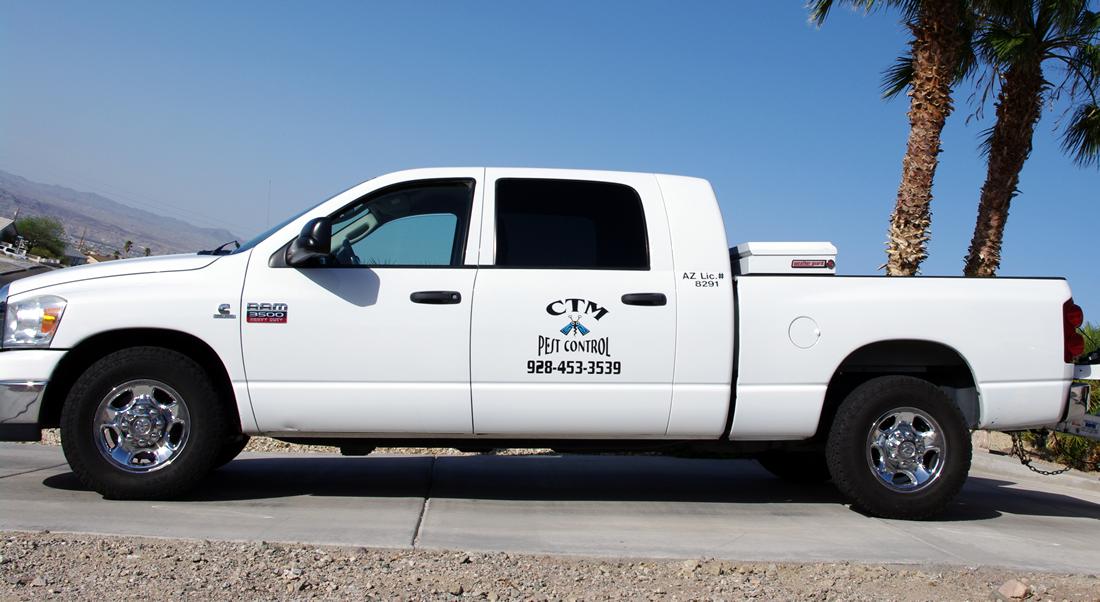 CTM Pest Control logo