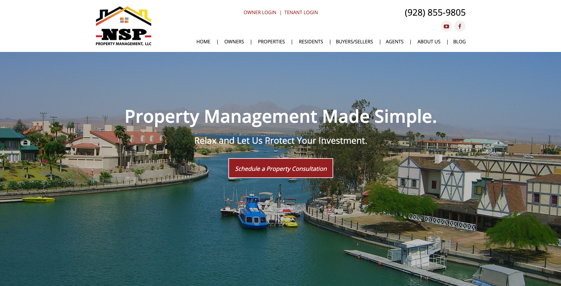 NSP Property Management logo