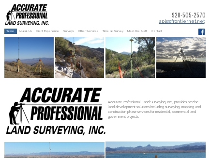 Accurate Professional Land Surveying Inc logo
