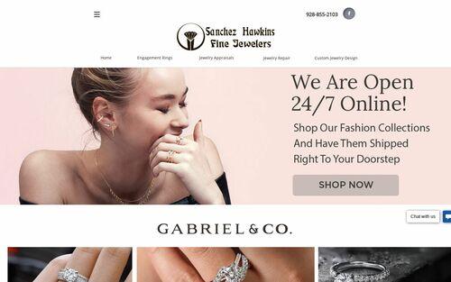 Sanchez-Hawkins Fine Jewelers logo