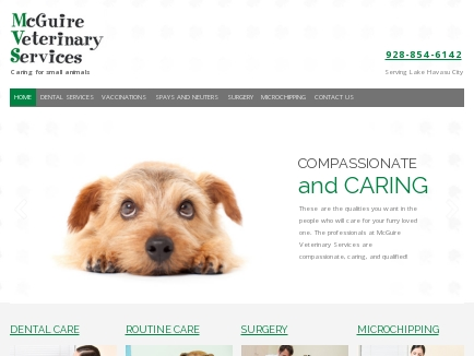 McGuire Veterinary Services logo