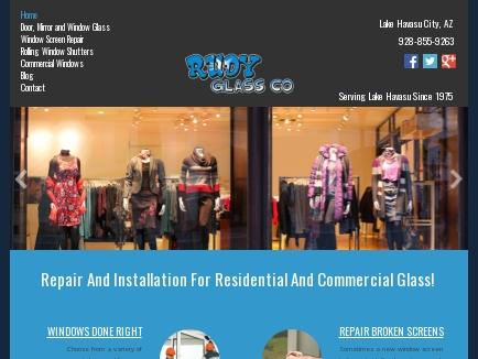 Rudy Glass Co logo
