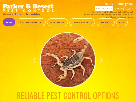 Desert Pest Control logo