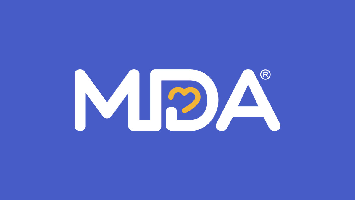 Muscular Dystrophy Association logo