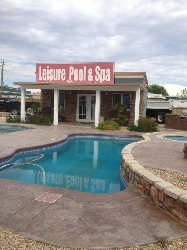 Leisure Pools And Spa logo