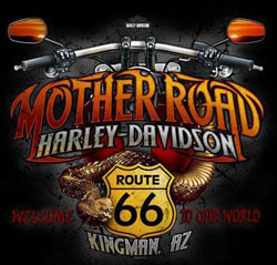 Mother Road Harley-Davidson Route 66 Motorsports logo