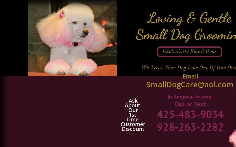 Loving And Gentle Dog Grooming logo
