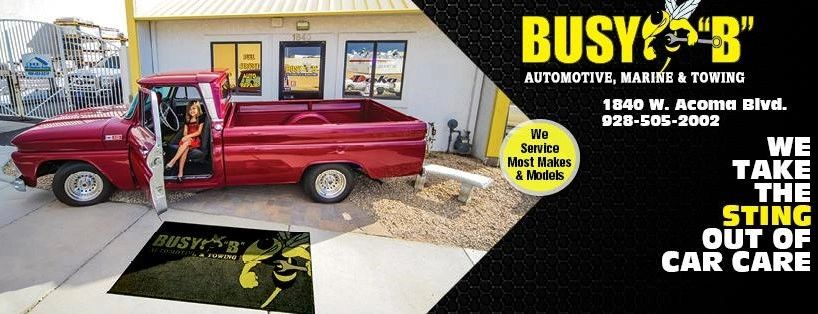 Busy B Towing & Automotive logo