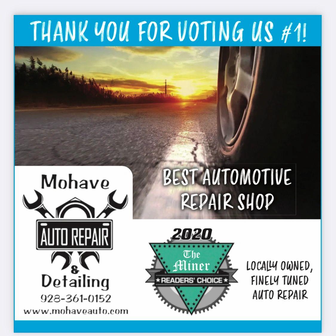 Mohave Auto Repair & Detailing logo