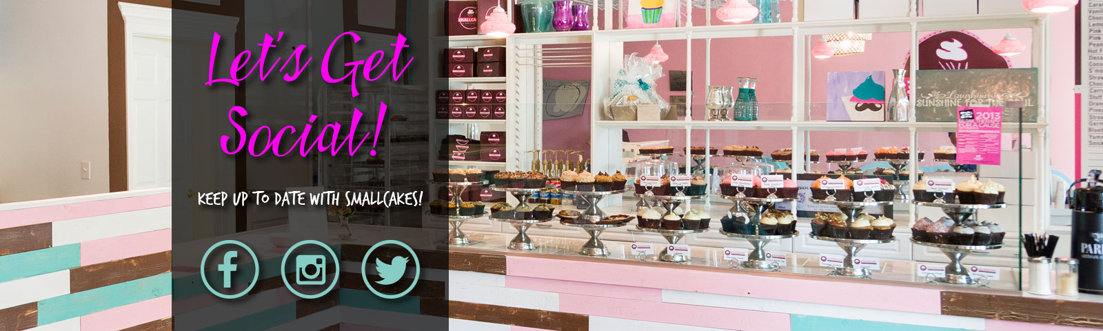 Smallcakes: Cupcakery & Creamery logo