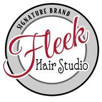 Fleek Hair Studio logo