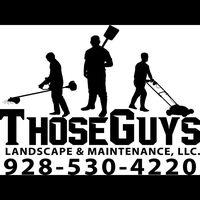 Those Guys Landscape & Maintenance LLC logo