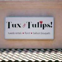Tux & Tulips logo