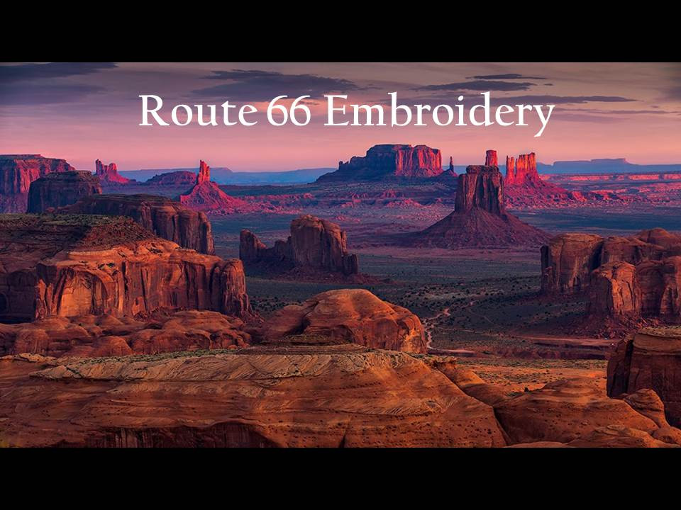 Route 66 Embroidery & Screen-printing logo