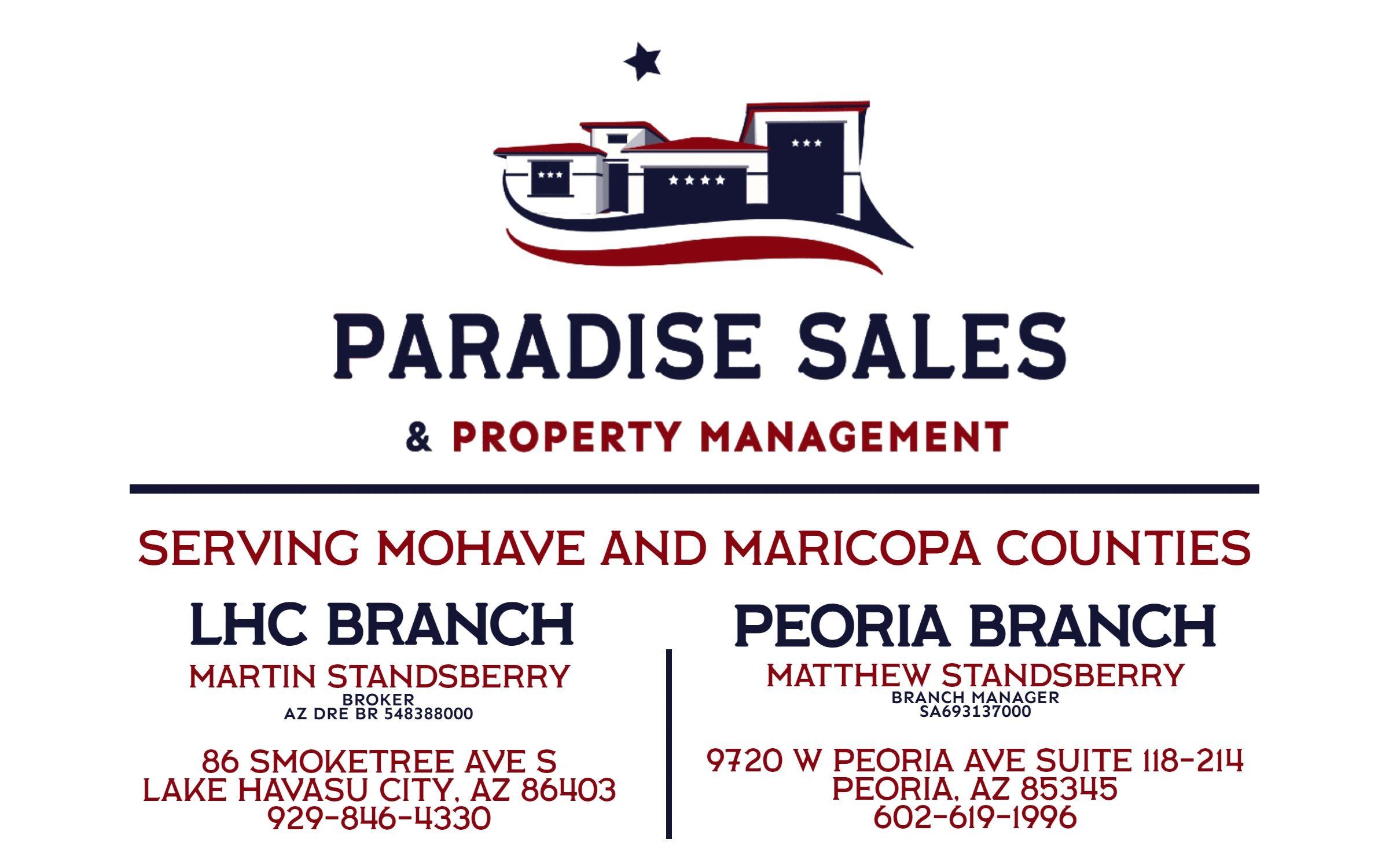 Paradise Sales & Property Management logo