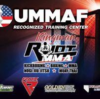 Kingman Riot Mixed Martial Arts logo