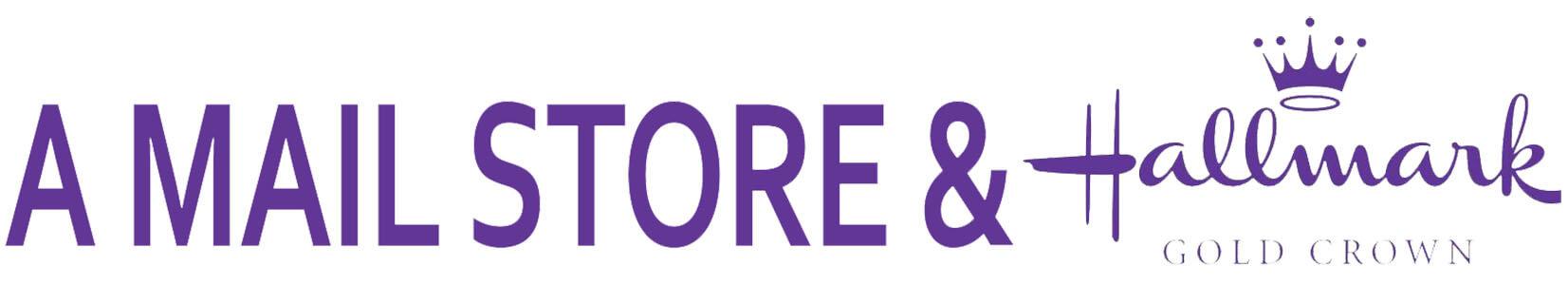 A Mail Store & Hallmark logo