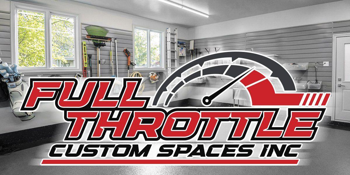 Full Throttle Custom Spaces Inc logo