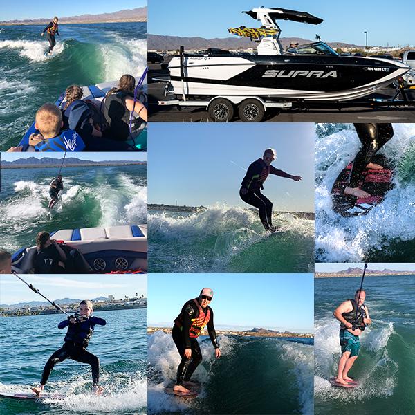 Wake Surf Adventures logo