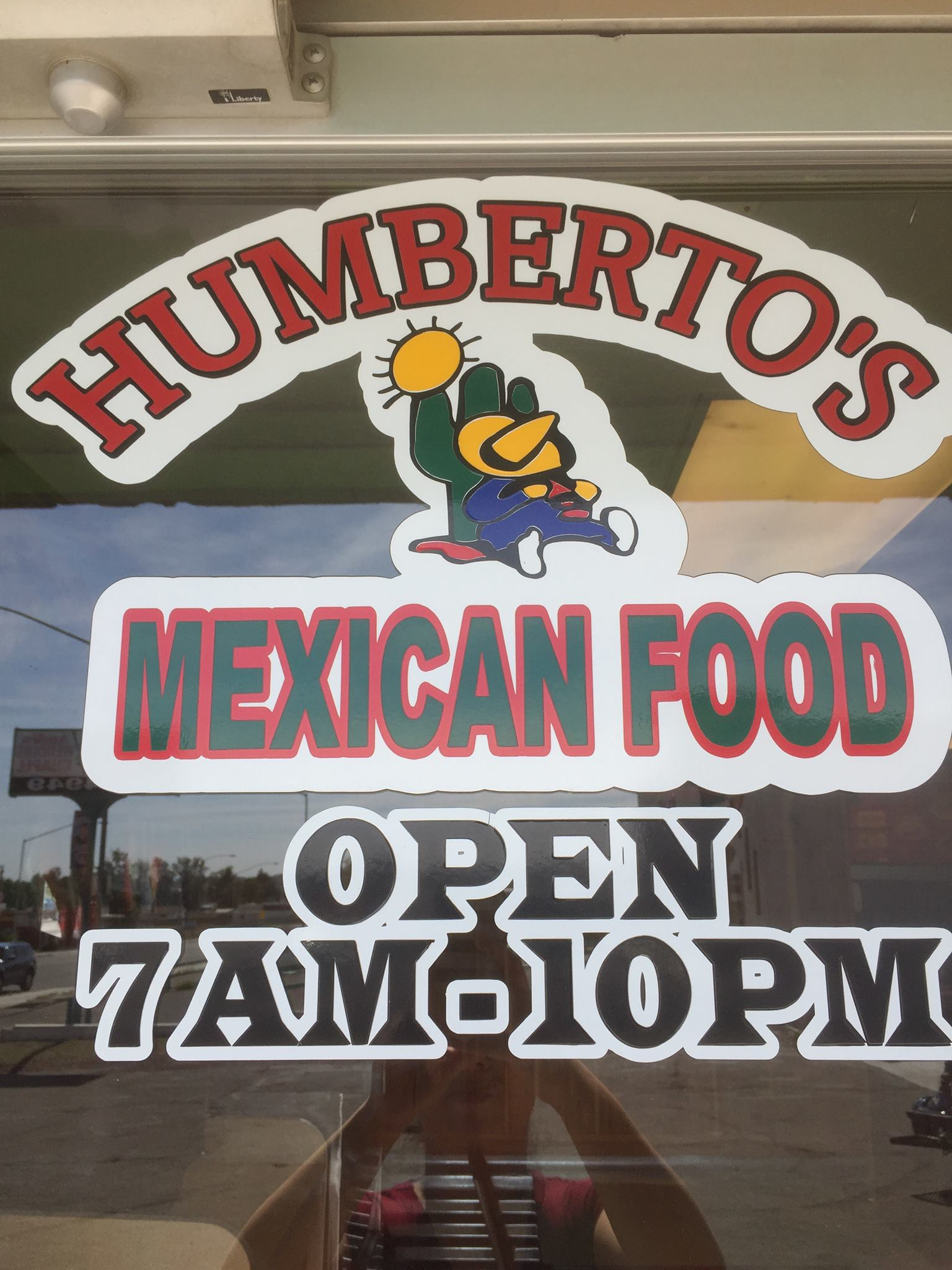 Humberto's Mexican Food logo
