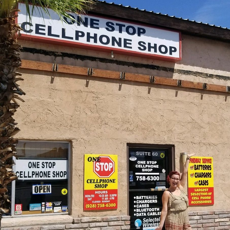One Stop Cellphone Shop logo