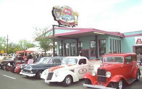 Mr D'z Route 66 Diner logo
